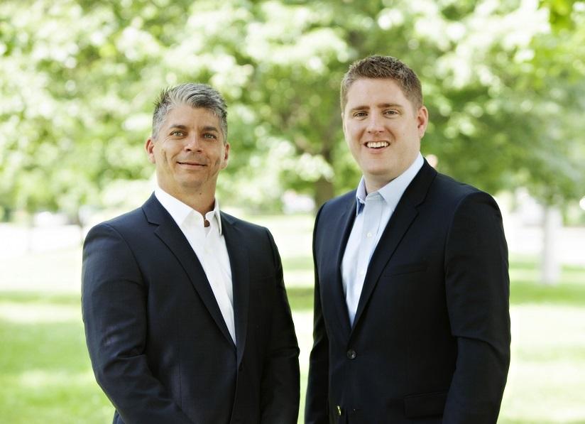 Edward Johnston and John Lynch Dwell360 Founders
